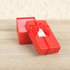 Коробка подарочная 15 х 9 х 6 см, красный
