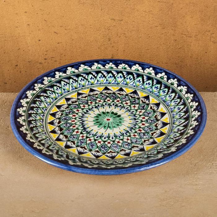 Тарелка плоская 26см  микс - фото 514435