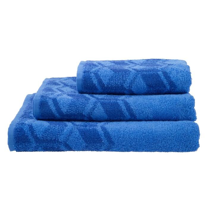 Полотенце махровое Sky color ПЛ-3502-03093, 70х130,цв.10000, синий, хл.100%, 360 г/м2