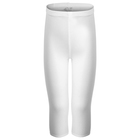 Бриджи гимнастические х/б, размер 38, цвет белый