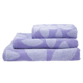 Полотенце махровое Lilac color ПЛ-3502-03089, 70х130,цв.10000, сирень, хл.100%, 360 г/м2