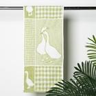 Полотенце махровое Little geese ПЛ-2702-3070, 30х70,цв.30000, зеленый, хл.100%, 420 г/м2