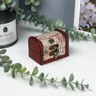 """Box tree trunk """"flower city"""" 6х8х5,5 cm"""