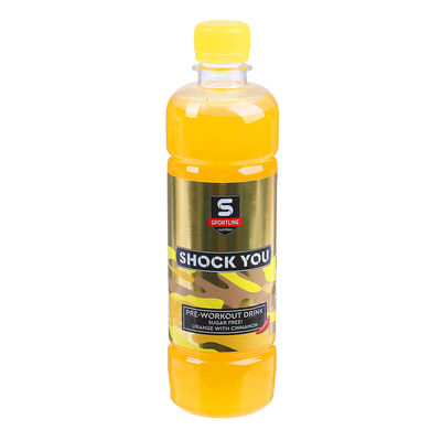 Напиток предтренировочный Shock You 500ml (Orange With Cinnamon)