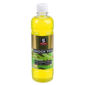 Напиток предтренировочный Shock You, лемонграсс, 500 мл
