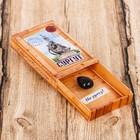 """Magnet matchbox """"Surgut"""", 3.6 x 5.6 x 1 cm"""