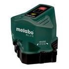 Лазерный уровень Metabo BLL 2-15, для укладки пола, диапазон 15 м, точность ± 0,3 мм/м
