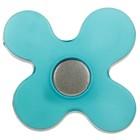 Ручка кнопка PLASTIC 002, пластиковая, синяя