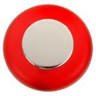 Ручка кнопка PLASTIC 004, пластиковая, красная