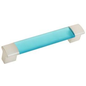 Ручка-скоба  PLASTIC 006, пластиковая, 96 мм, синяя