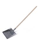 Лопата оцинкованная детская, ковш 215 ? 240 мм, с деревянным черенком, цвет МИКС