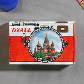 Магнит-спичечный коробок «Москва» в Донецке