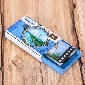 "Magnet matchbox ""Tyumen"", 5.6 x 3.6 x 1cm"