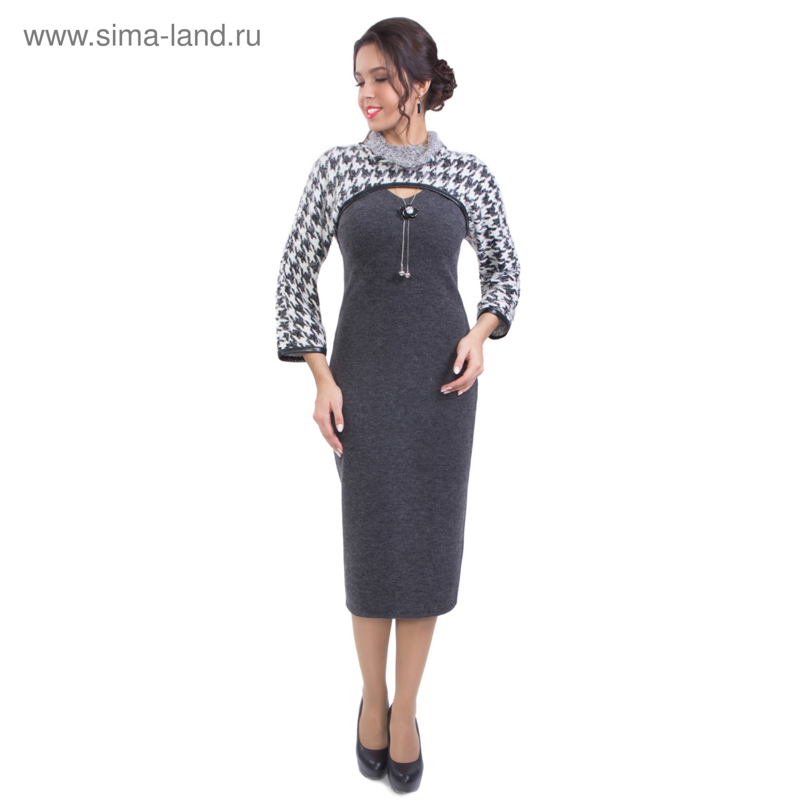 4a43c134110 Костюм женский (платье+жакет)