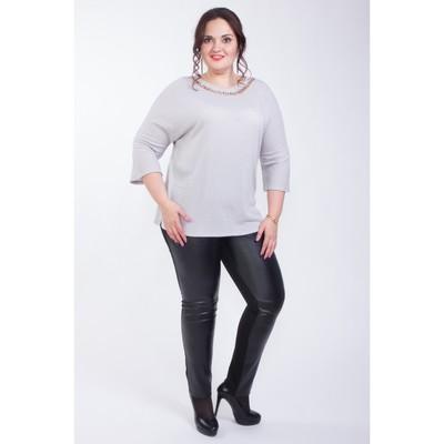 Блуза женская, размер 60, цвет белый М4-3034/1