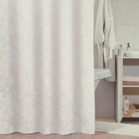 Штора для ванной комнаты 180х180 см, White Shadows