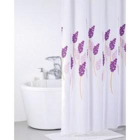 Штора для ванной комнаты 200х200 см lavender happiness