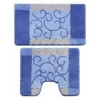 Набор ковриков для ванной комнаты 50х80, 50х50 см Fine Lace