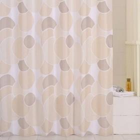 Штора для ванной комнаты 200х240 см cream balls