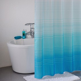 Штора для ванной комнаты 200х200 см, Blue Horizon