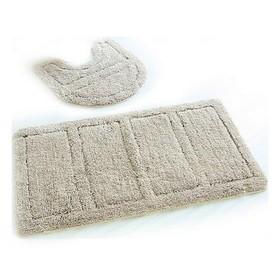 Набор ковриков для ванной комнаты IDDIS Beige Landscape, 60×90, 50×50 см