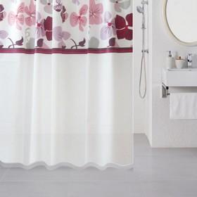 Штора для ванной комнаты 180х180 см, Nemesia