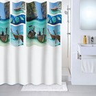 Штора для ванной комнаты 180х180 см Paradise sky