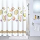 Штора для ванной комнаты 180х180 см Shelly beach