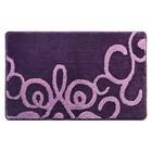Коврик для ванной, комнаты 50х80 см Fairyland violet