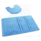 Набор ковриков для ванной комнаты 60х90, 50х50 см Blue Landscape