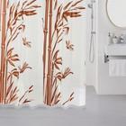 Штора для ванной комнаты 180х180 см, Bamboo (brown)