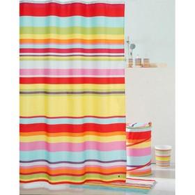 Штора для ванной комнаты 200х240 см summer stripes