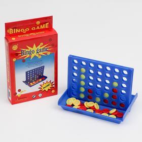 """Бинго """"Звезда"""", четыре в ряд, 10х15 см"""