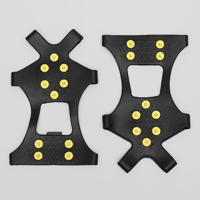 Ледоходы для обуви универсальные, 10+10 шипов, размер L