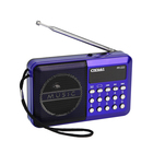 "Радиоприемник ""Сигнал РП-222"", бат, 220V, акб 400мА/ч, USB, SD, дисплей,"