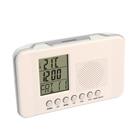 """Часы радиобудильник """"CR-204 Сигнал"""", FM, измерение комнатной температуры, белые"""