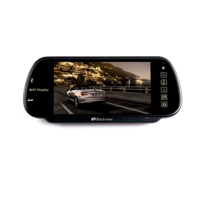 Монитор на зеркало Blackview MM-71 FM