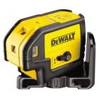Уровень DeWalt DW 085 К, лазерный, 4х1.5В-LR6(AA), 30м, точн. 0.2мм/м, 0.55кг 5 лучей