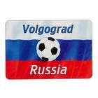 """Магнит """"Волгоград"""", мяч, 9,6х6,5 см"""