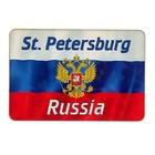 """Магнит """"Санкт Петербург"""", герб, 9,6х6,5 см"""