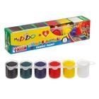 Краска по ткани 1 шт 24 мл, набор 6 цветов