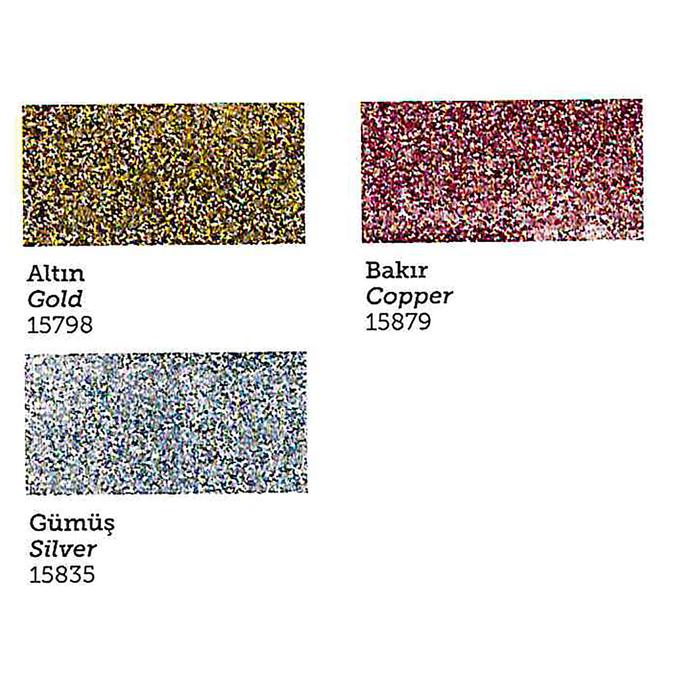 Паста рельефная для ткани с блестками, 150 мл, цвет 15798 - фото 543802537