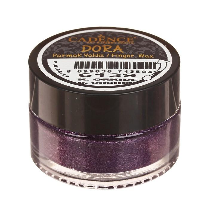 """Воск для нанесения пальцем, металлик """"Dora"""" для создания эффекта золочения, 20 мл, цвет 6139 25793"""