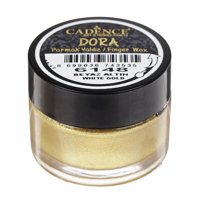 """Воск для нанесения пальцем, металлик """"Dora"""" для создания эффекта золочения, 20 мл, цвет 6148"""