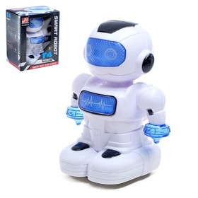 """Robot """"Cosmobot"""" rides, light and sound effects, runs on batteries"""