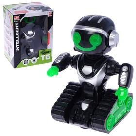 Робот «Космобот», ездит, произвольное движение, световые и звуковые эффекты