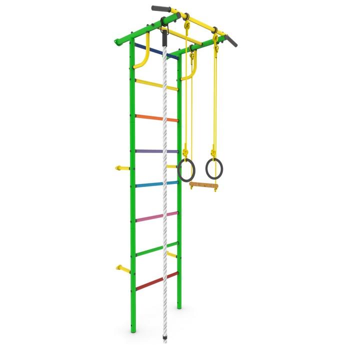 """Детский спортивный комплекс """"Роки-3ц"""" с навесным оборудованием, цвет зелёный"""