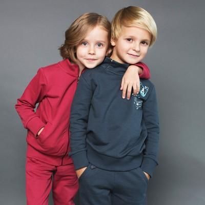 Джемпер для мальчика, рост 134 см, цвет тёмно-серый 162-321-42