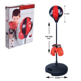 "A set of Boxing ""Pro"": outdoor bag, gloves"