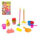 """Game set """"a Little cleaner"""" with accessories"""